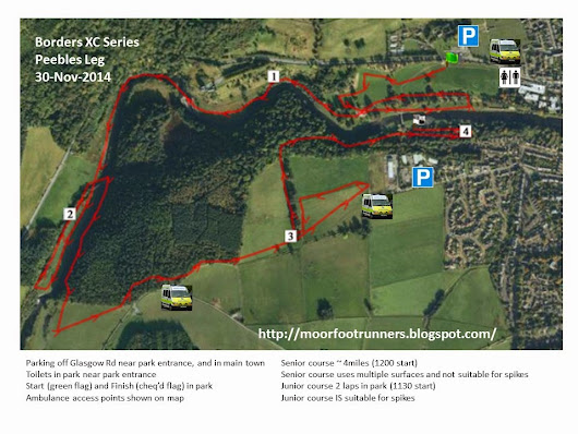 Borders XC Series - PEEBLES Leg SUN 4th FEB