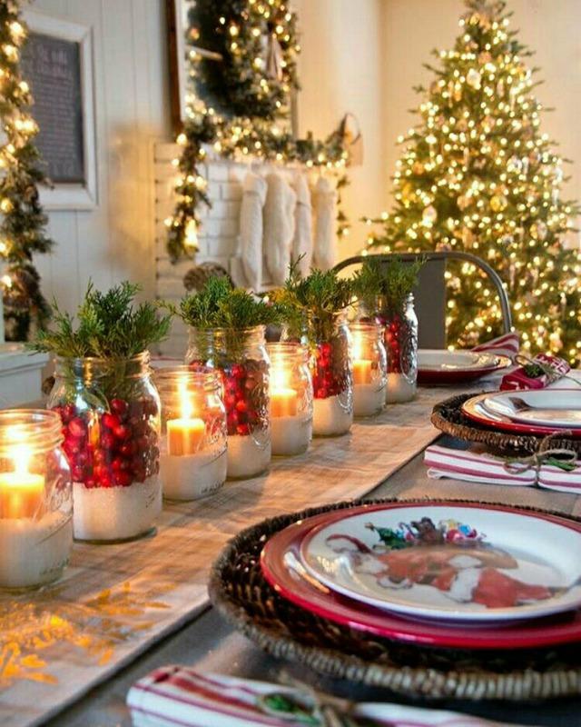 Decoração de 20 mesas de natal para inspirar e copiar
