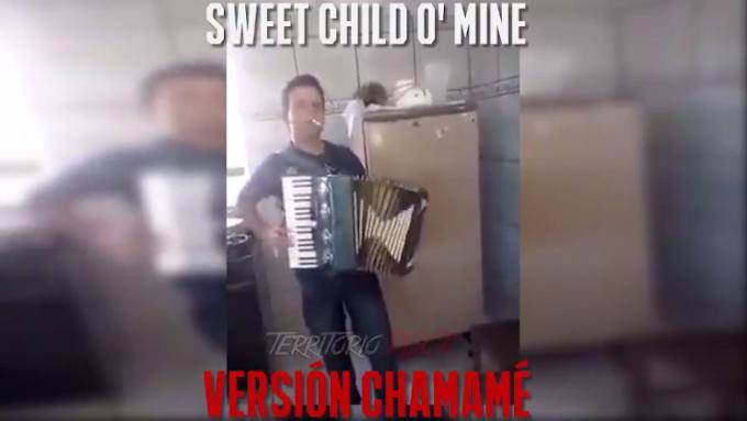 """¿Como seria """"Sweet Child O' Mine"""" de Los Guns en versión Chamamé? Ingresa y escucharlo."""