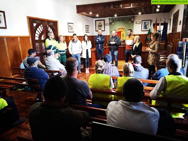 El Paso contrata a 32 personas desempleadas para reforzar la gestión de los servicios municipales