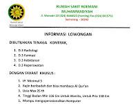 Lowongan Kerja Rumah Sakit Roemani Muhammadiyah Semarang Desember 2017