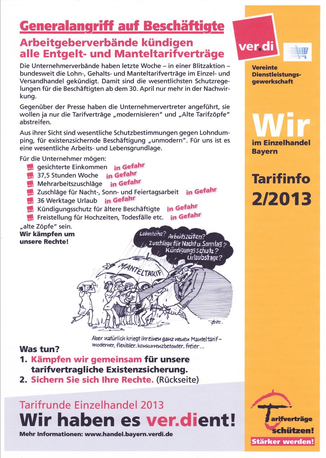 teil arbeitsvertrag ohne tarifbindung