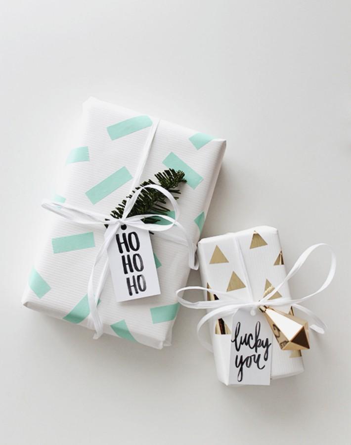 6 empaquetados de última hora para tus regalos de Navidad