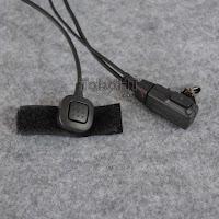 Handsfree Headset Detektif FBI Paspampres 2 PTT HT Motorola 2 Jek
