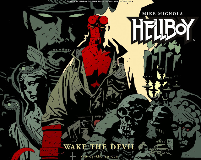 Dark Horse Books Announces the HELLBOY Omnibus Collection