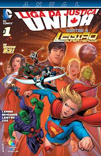 Os Novos 52! Liga da Justiça Unida - Anual #1