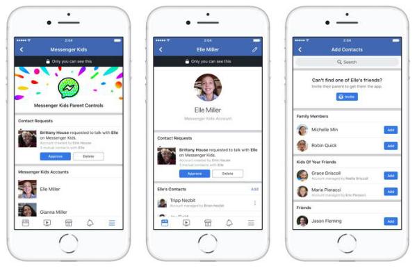فيسبوك تطلق نسخة جديدة من مسنجر موجهة للأطفال
