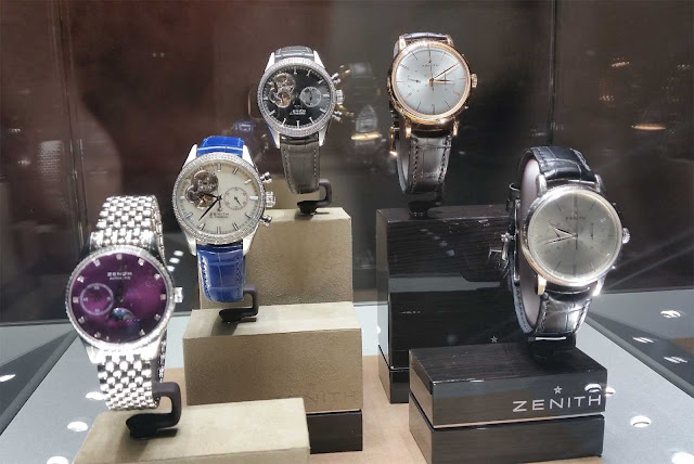 a few Zenith Watch models