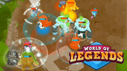 World of Legends: How to Get Gems Like Mirror (2 Heroes) and Attack Speed