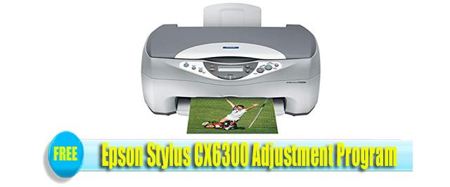 Epson Stylus CX6300 Adjustment Program