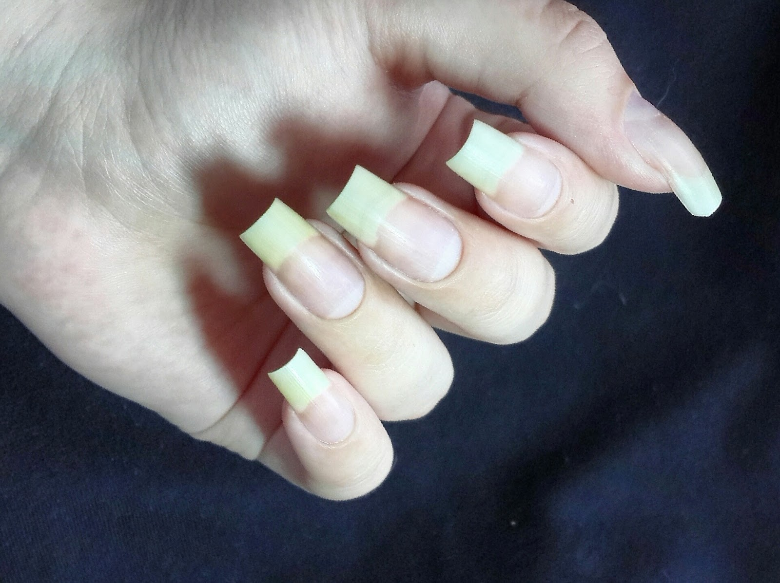 Bare nails of POGO