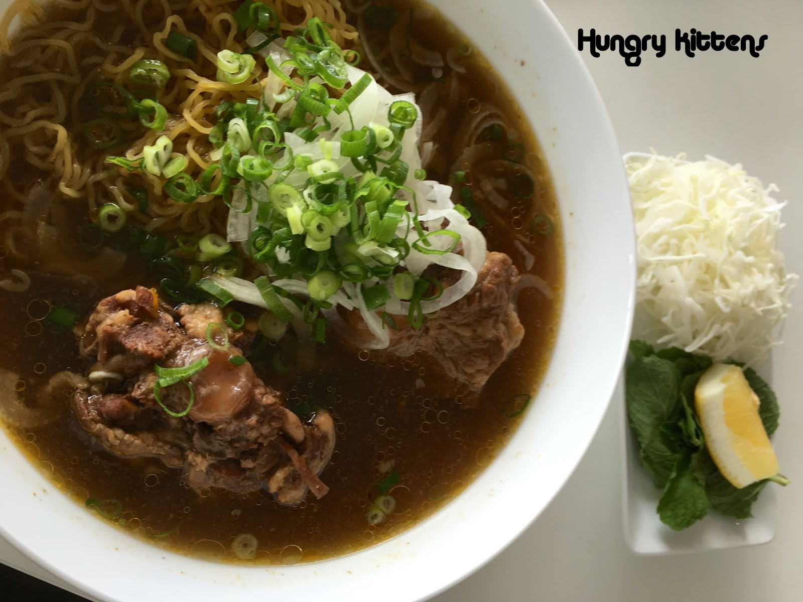 Hungry Kittens: My Pho Bar for Lunch