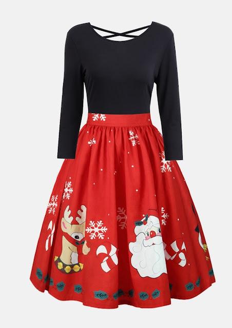 https://www.rosegal.com/long-sleeve-dresses/christmas-graphic-criss-cross-swing-1366046.html