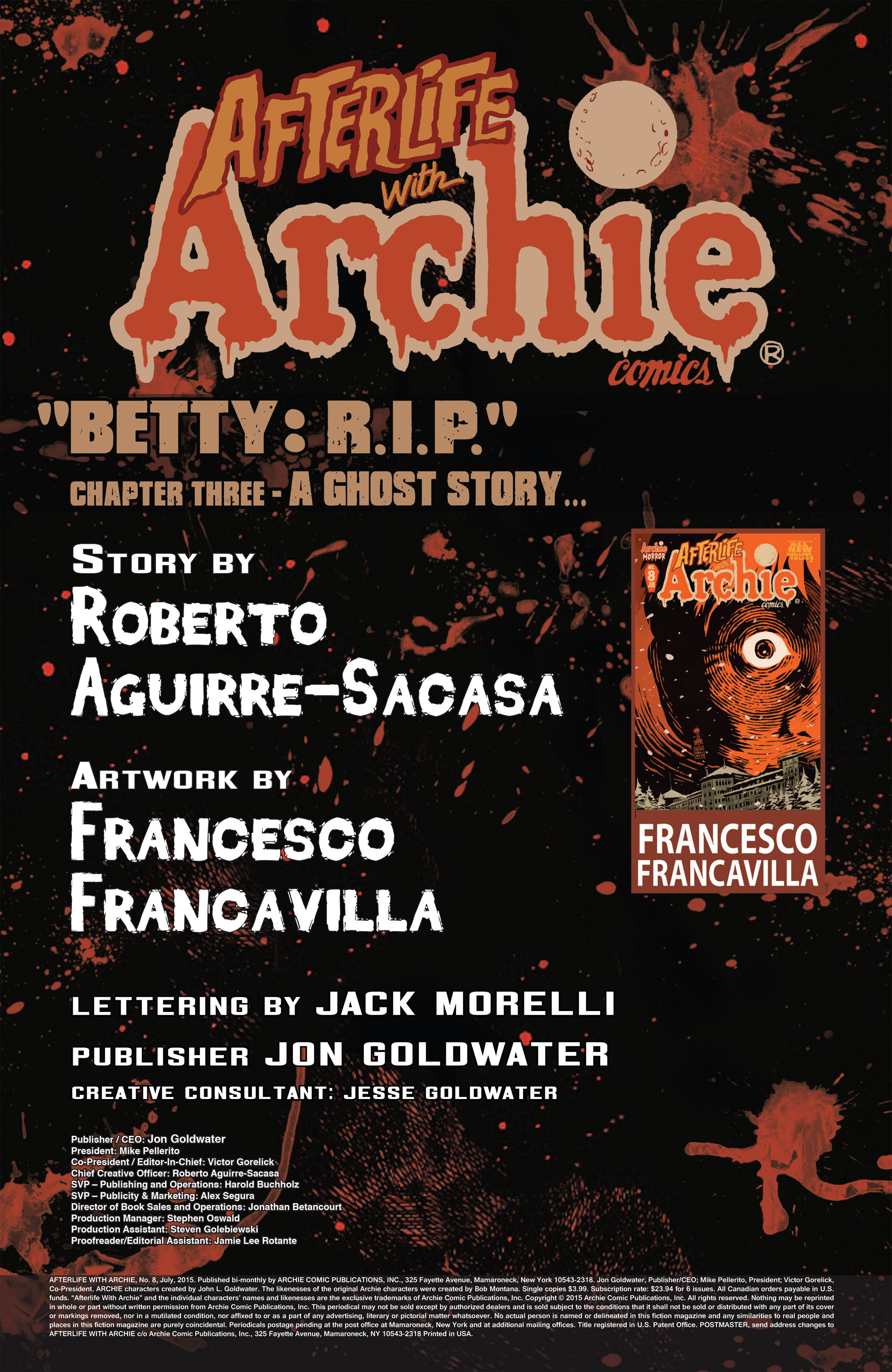 Read online Afterlife with Archie comic -  Issue #8 - 2