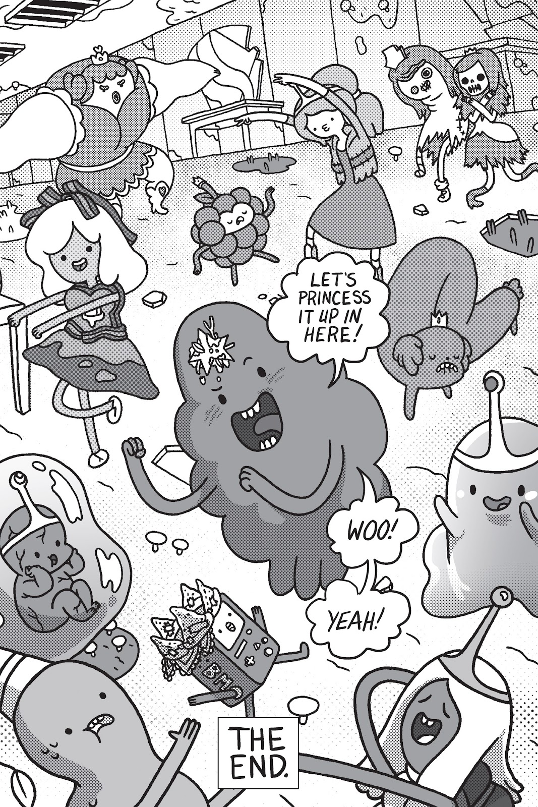 Read online Adventure Time: Pixel Princesses comic -  Issue # Full - 151