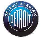 Logo Detroit Electric marca de autos
