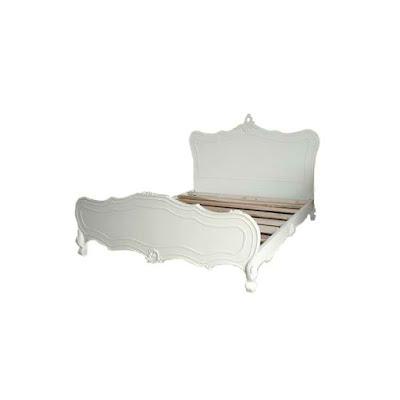 mebel ukir jepara,tempat tidur ukir jepara jati klasik cat duco putih french style italian furniture.code 90029