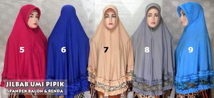 jilbab syar'i umi pipik dian irawati