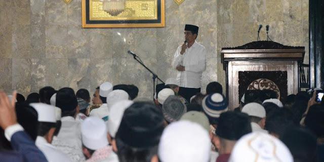 Jokowi: Kita Butuh Al Quran Agar Maju, Toleran dan Lepas dari Kemiskinan