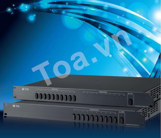 Bộ Lựa Chọn Vùng Loa SS-1010 & SS-1010R - Âm thanh TOA chính hãng