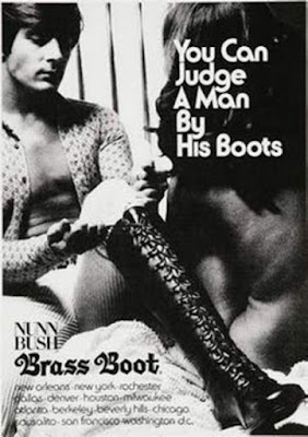 You can judge a man by his boots