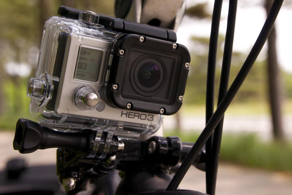 derrannl gopro hero 3 silver edition camera cycling video. Black Bedroom Furniture Sets. Home Design Ideas
