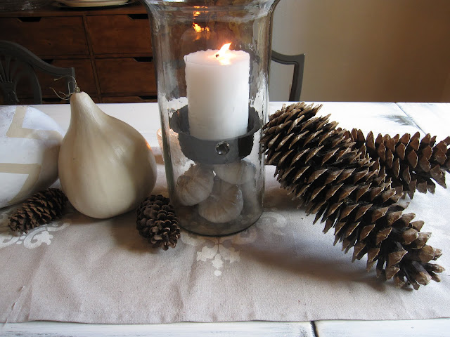 Thanksgiving Fall table decoration
