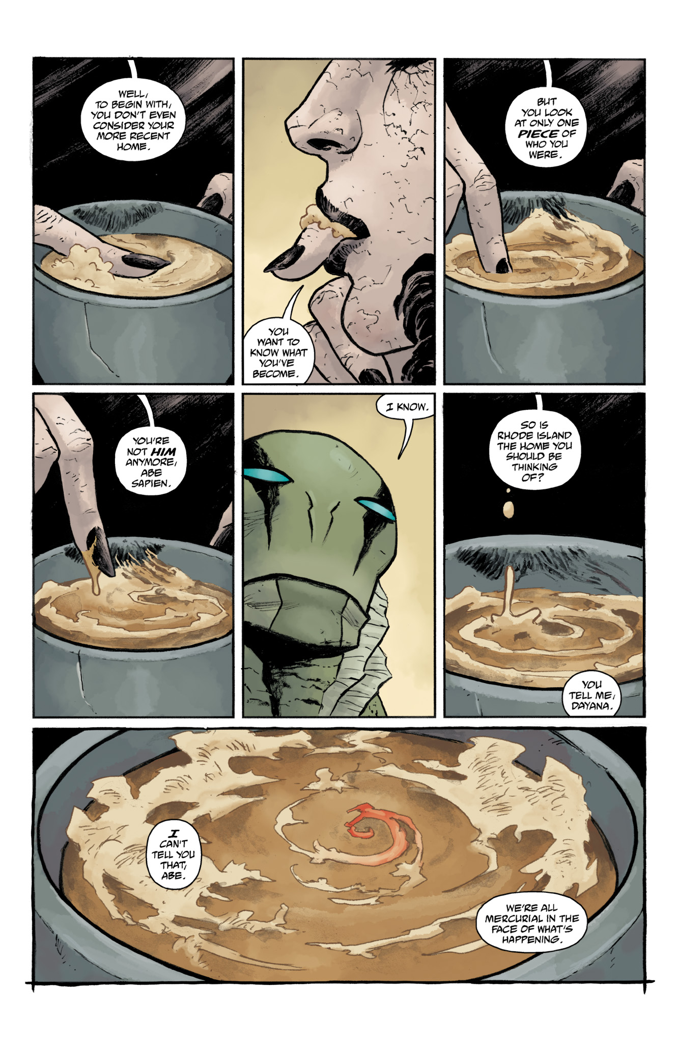 Read online Abe Sapien comic -  Issue #19 - 9