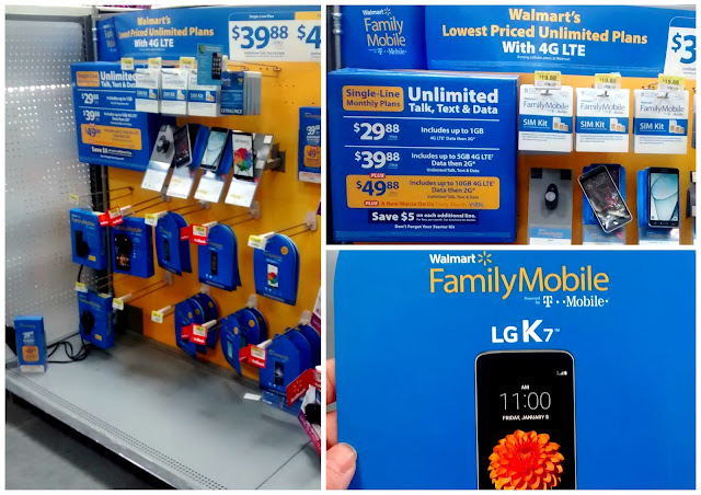 Sending our oldest daughter to college this fall just got cheaper! See how we are using our tax refund to save big on a Walmart Family Mobile Plus plan and LG K7 Smartphone!
