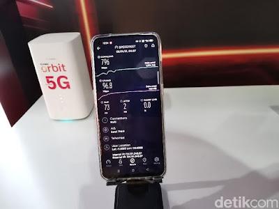 Kecepatan 5G Telkomsel di Solo