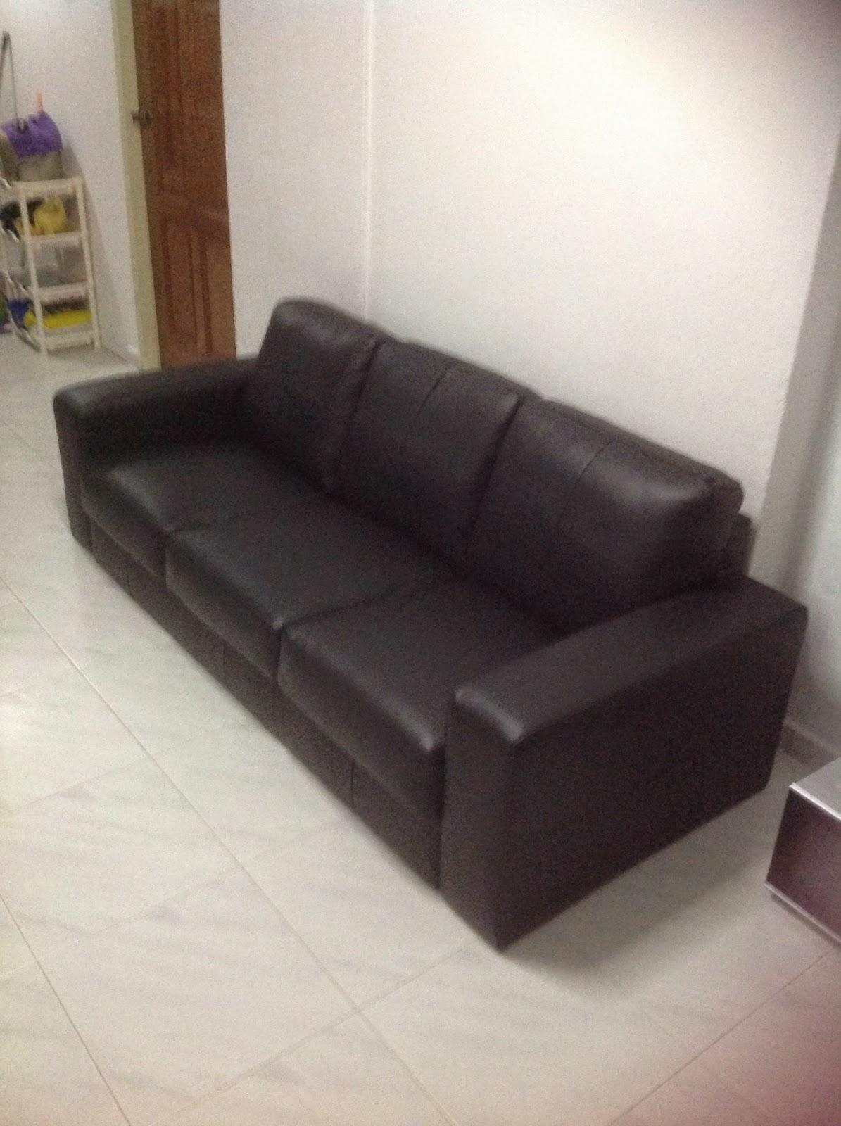 Skogaby 3 Seater Black