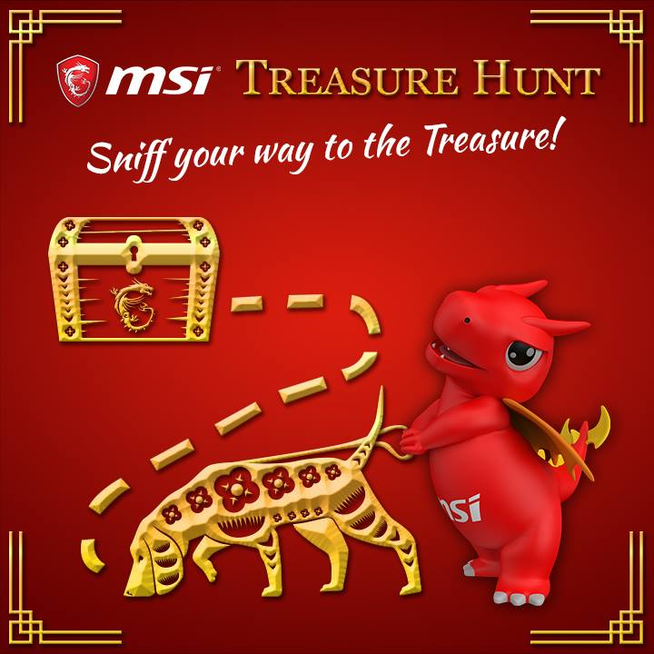 Join MSI Treasure Hunt to Win Special MSI Items