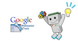 Google Webmaster tools logo robot
