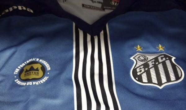 a696ba69dc1c0 Agora é Santos  Peixão Lança Terceira Camisa de 2016.
