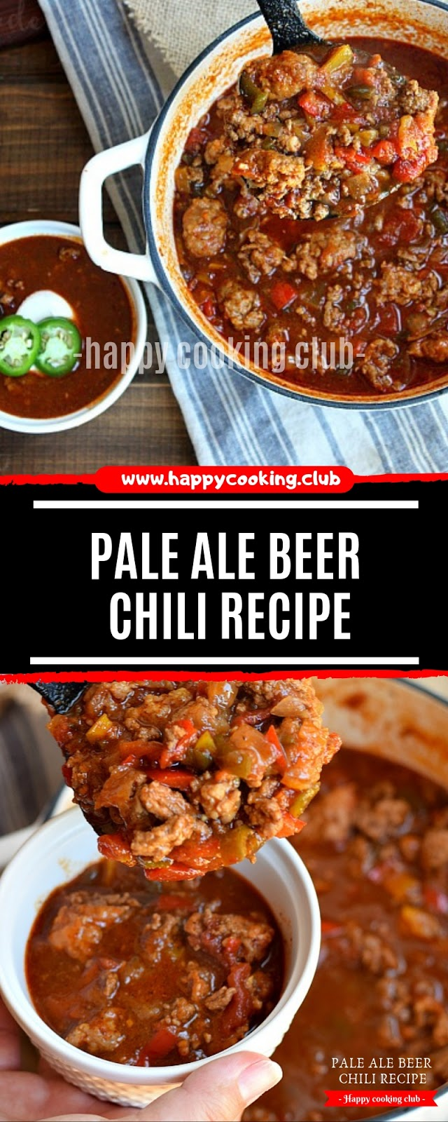 Pale Ale Beer Chili Recipe