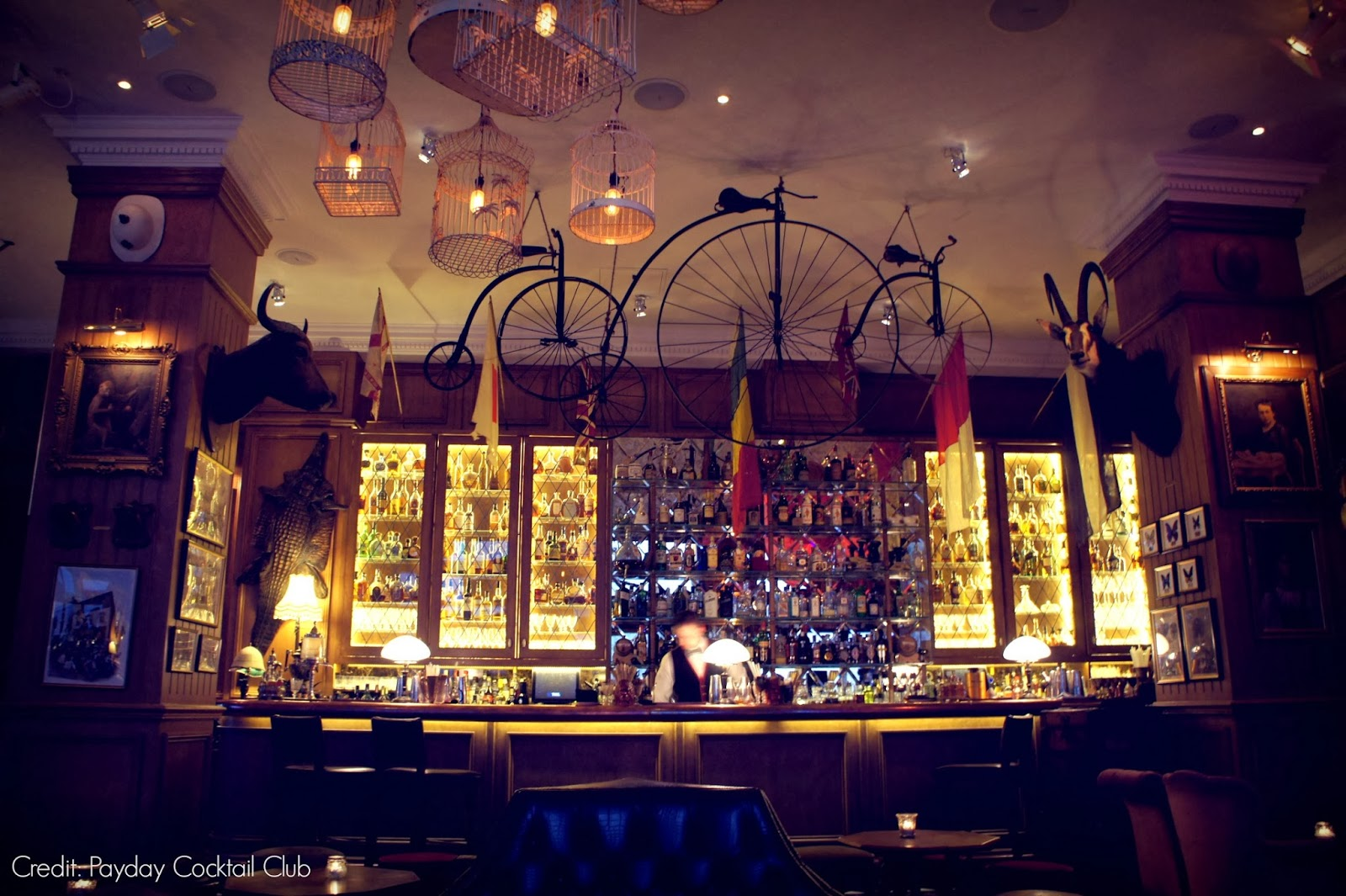 Mr Fogg's Cocktail Bar Review