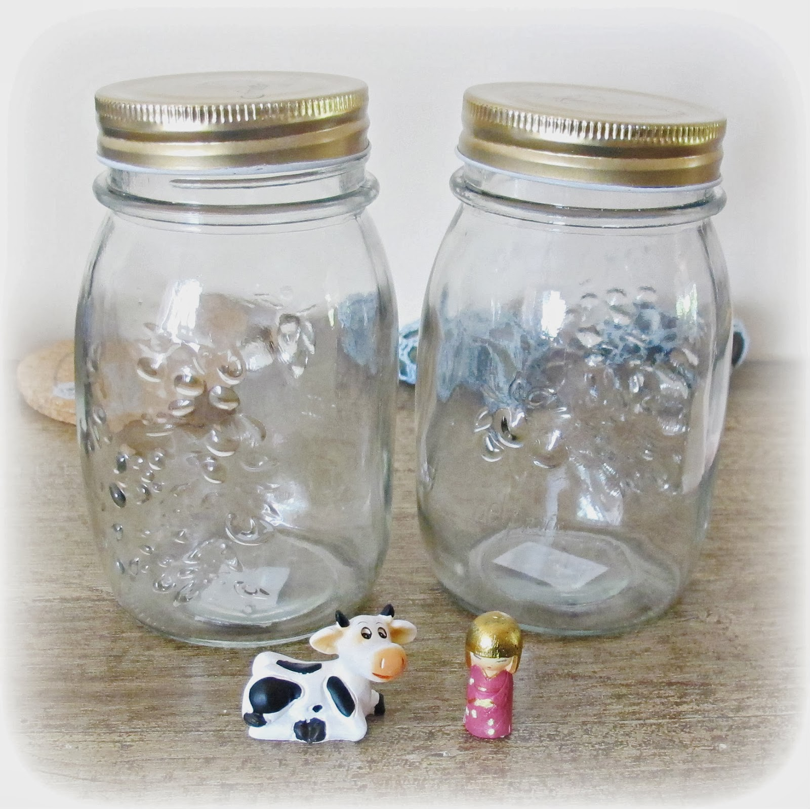 image diy decorated jars tutorial painted figurines