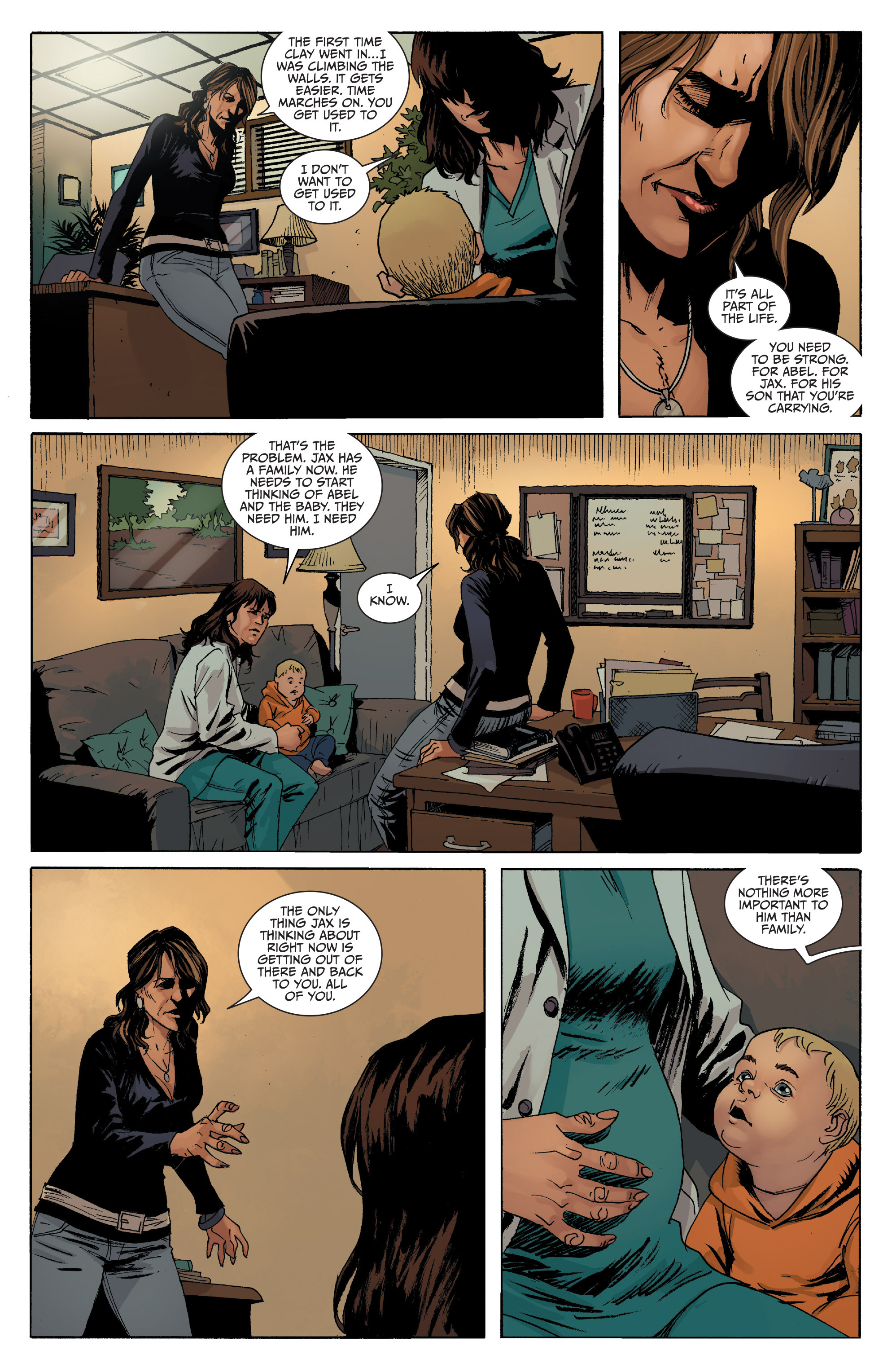 Read online Sons of Anarchy comic -  Issue #8 - 8