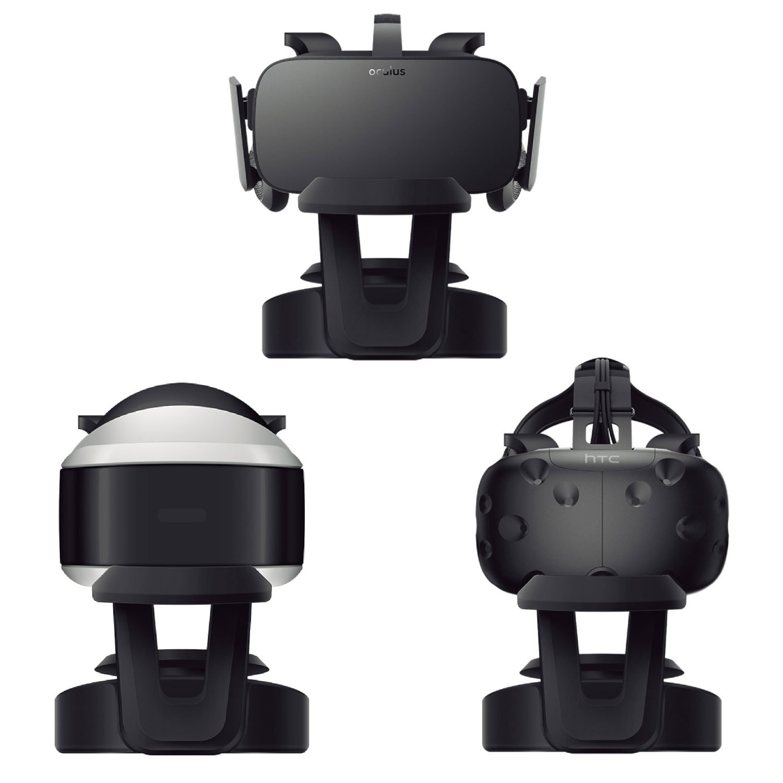 Vr Headsets Vr Headset Stander Elecgear Universal Standfuss Mit Kabel Organizer Fur Ps Vr Brille Virtual Reality Google Glasses 3d Spiel Box Stand Playstation Psvr Oculus Rift Htc Vive Samsung Gear Vr
