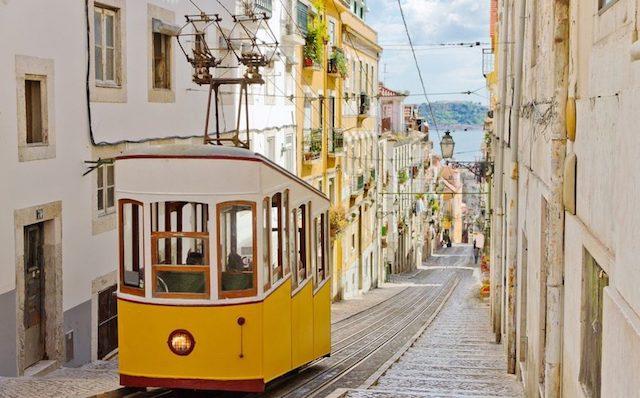Elevador da Glória em Lisboa