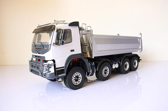 Truck RC Hydraulic Dump Truck 8x8 1.5 Version 1.14 Scale