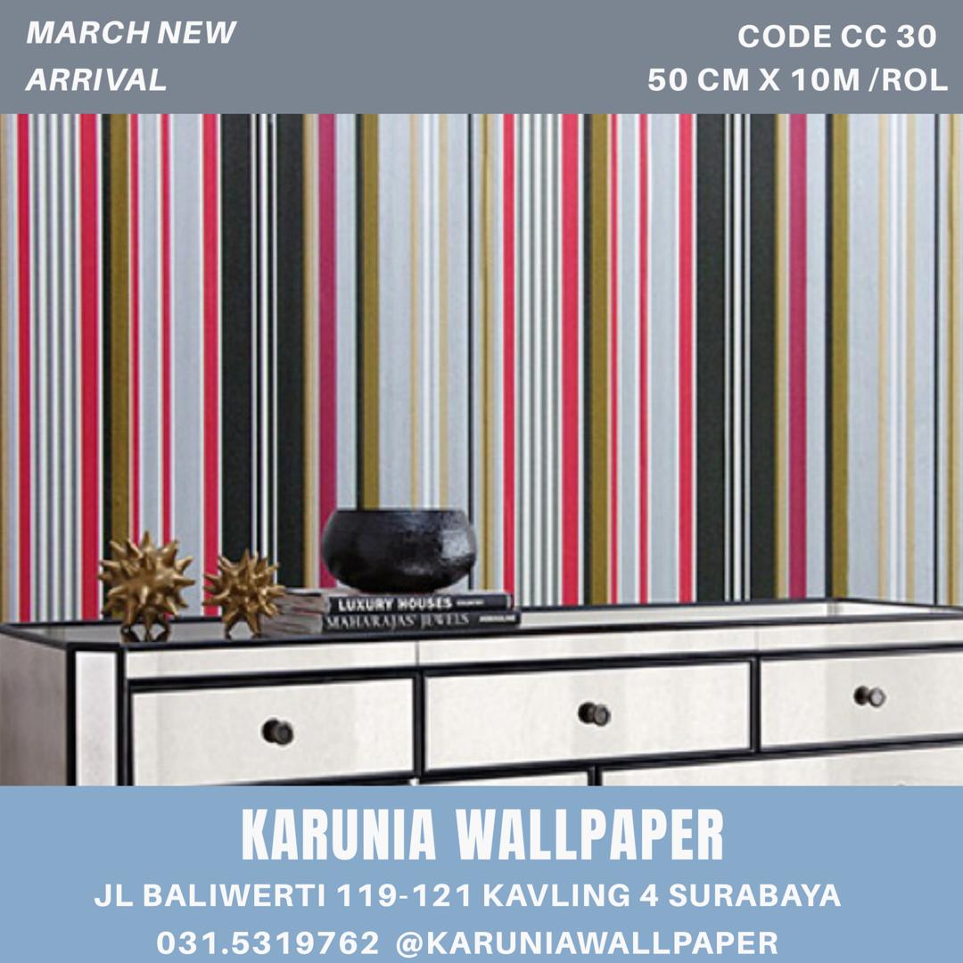 jual dinding minimalis dengan wallpaper surabaya