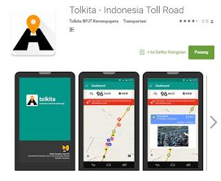 Tolkita aplikasi info jalur arus mudik untuk android - AnekaTekno.com