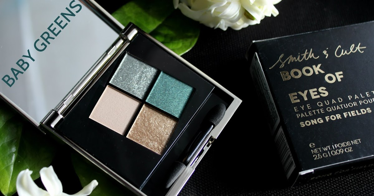 Smith & Cult Book of Eyes Eye Quad Palette ... - Beauty Unearthly