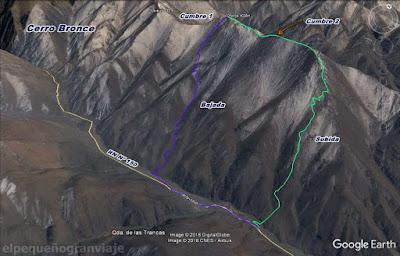 Trekking, cerro Bronce, Paso, Agua Negra, fortuna, soldado, san juan, iglesia, montañismo,ascensos