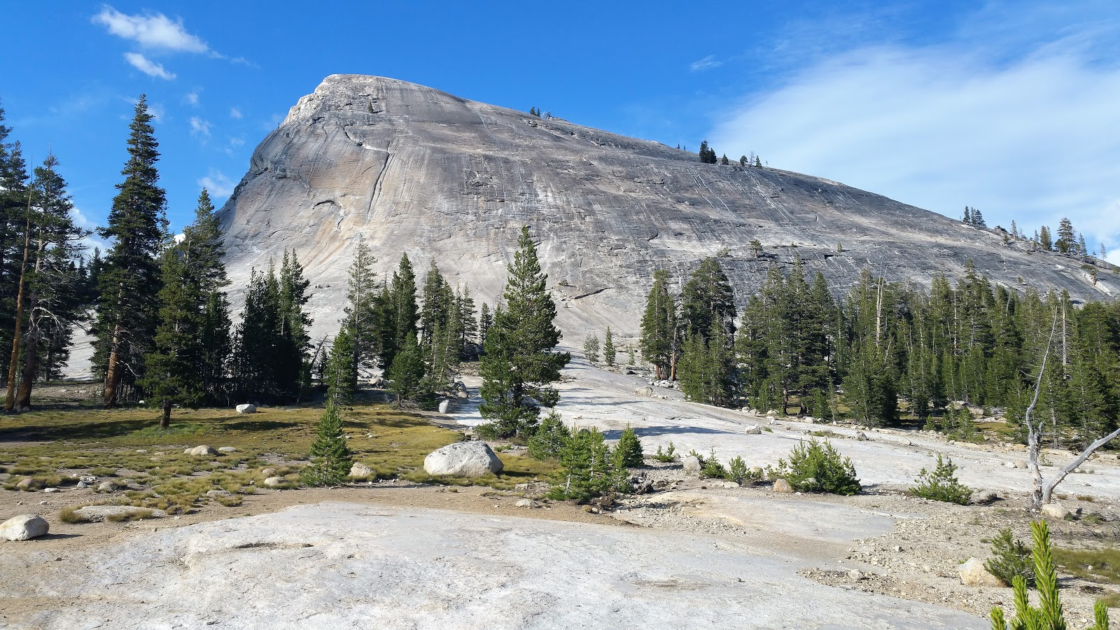 A massive Rock Dome in Yosemite