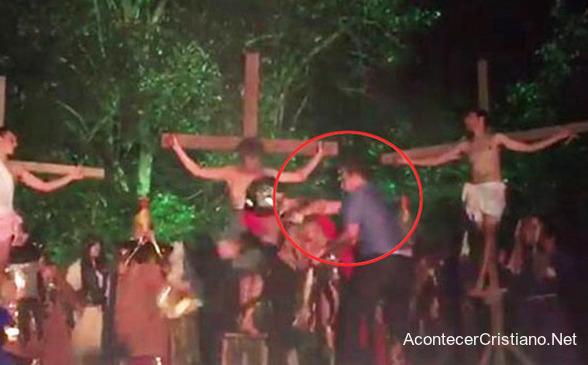 Drama de la crucifixión de Jesús