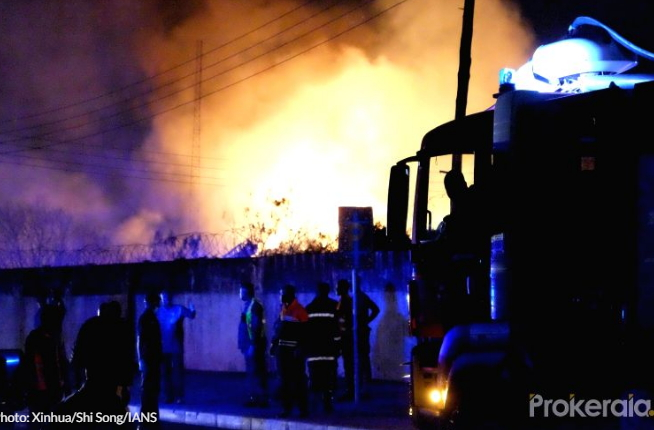 accra ghana gas station explosion death toll