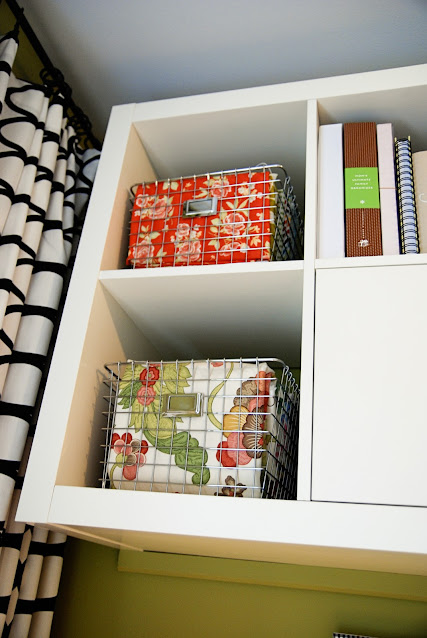 built in office IKEA, home office organization, tips for office organization