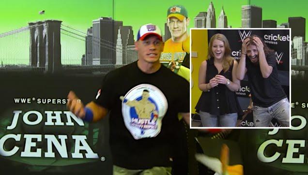 John Cena surprises fans